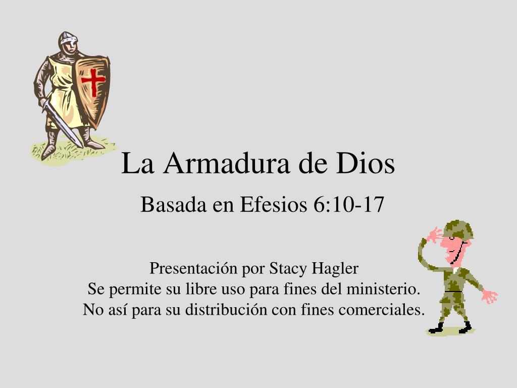 Ppt La Armadura De Dios Powerpoint Presentation Id197873