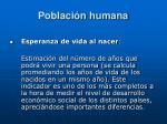 poblaci n humana16