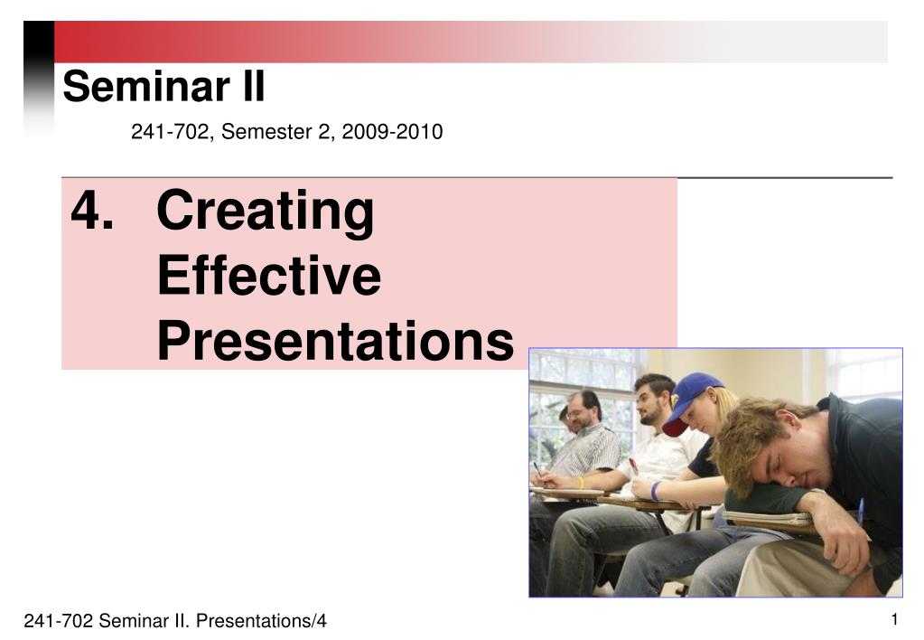 4 creating effective presentations l.