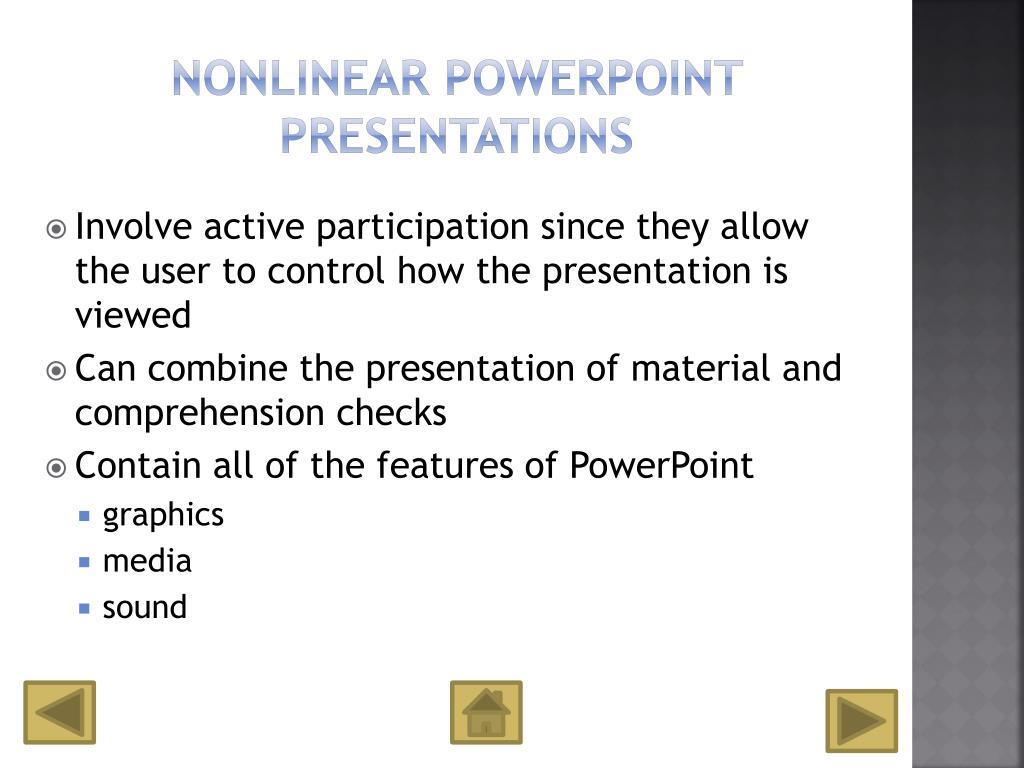 Nonlinear PowerPoint Presentations