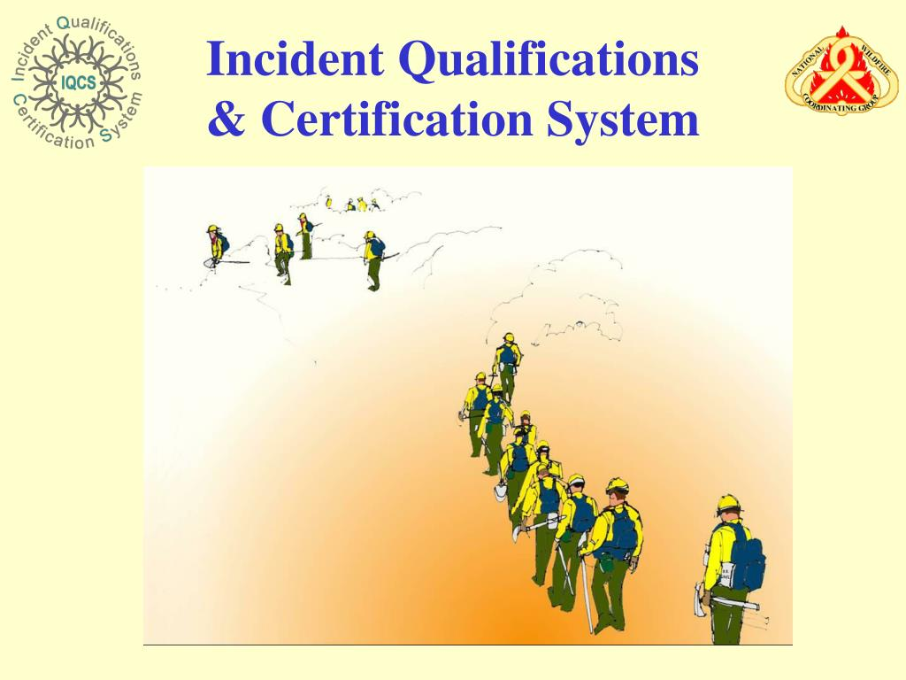 incident qualifications certification system l.