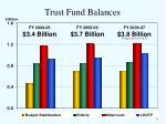 trust fund balances