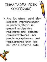 invatarea prin cooperare