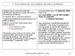 1 prime definizioni la politica che manca all italiano