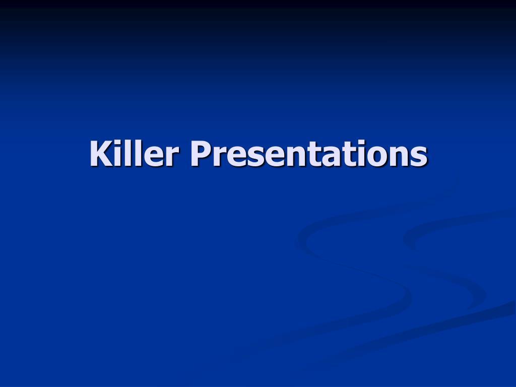 killer presentations l.