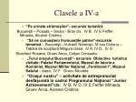 clasele a iv a81