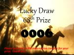 lucky draw5