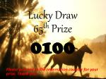 lucky draw8