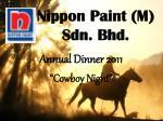 nippon paint m sdn bhd
