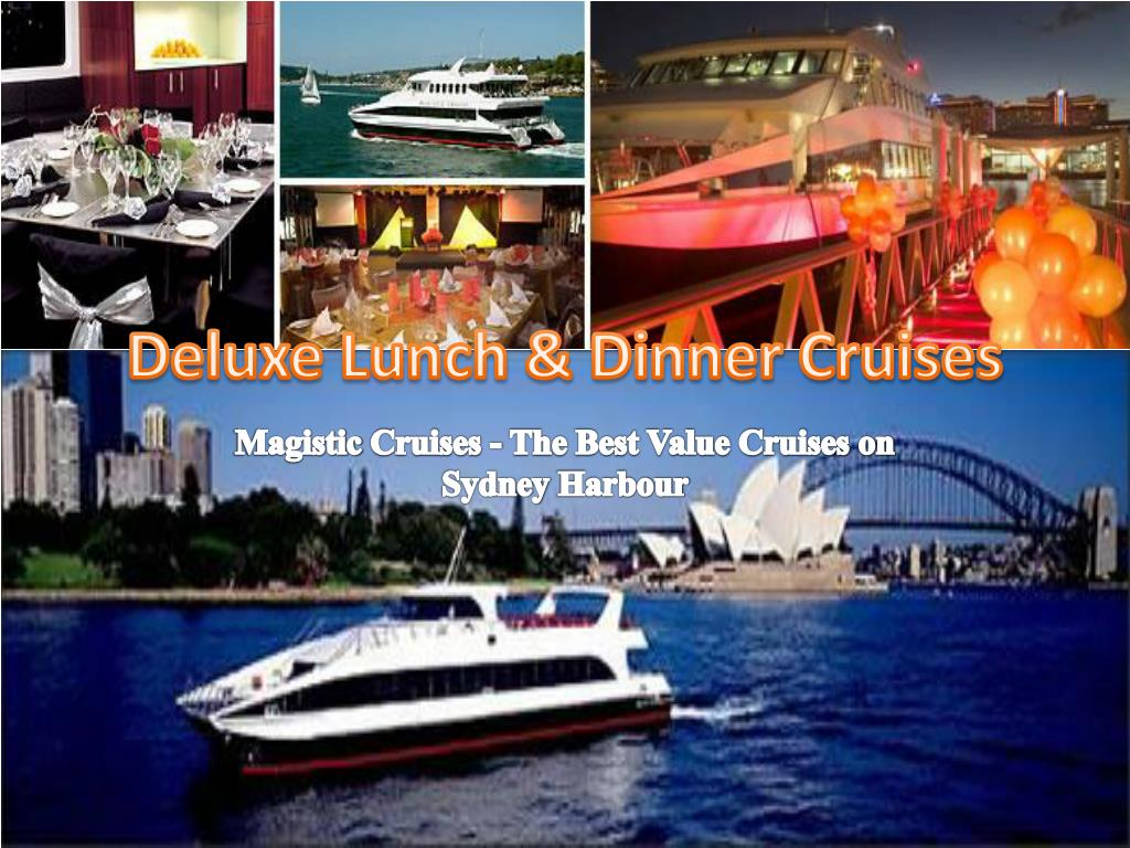 deluxe lunch dinner cruises l.