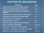 factor de seguridad20