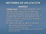 sectores de aplicaci n53