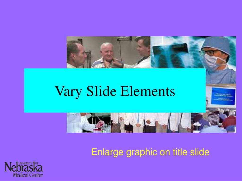 Vary Slide Elements