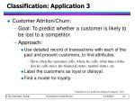classification application 3
