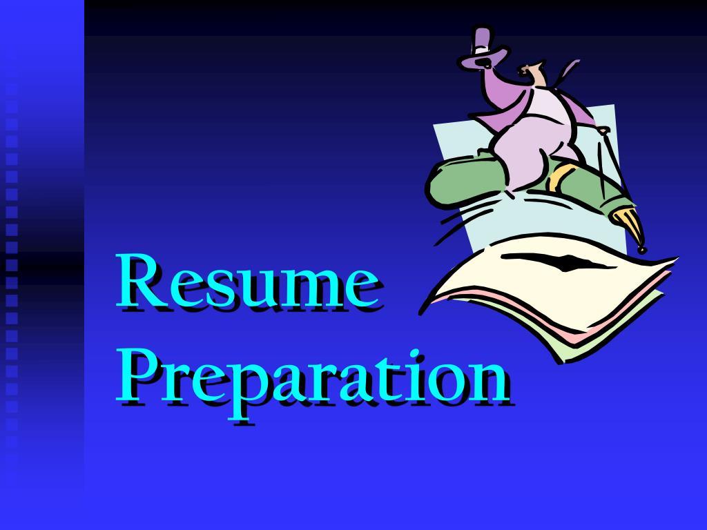 resume preparation l.