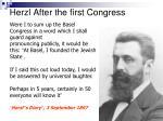 herzl after the first congress