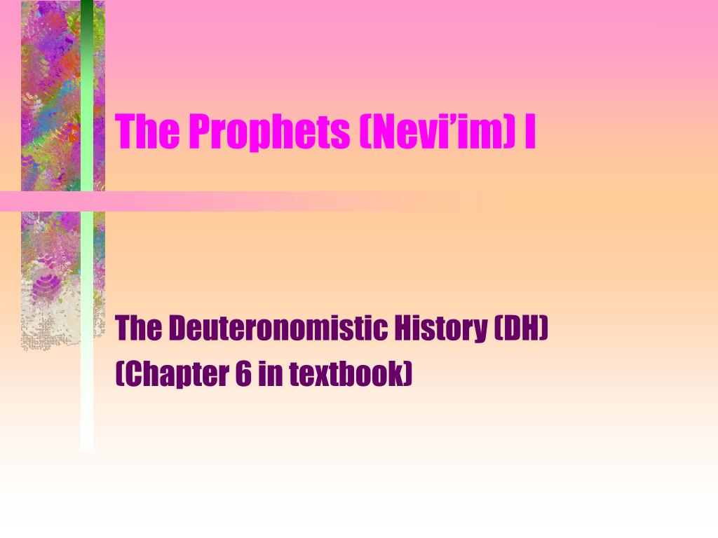 the prophets nevi im i l.