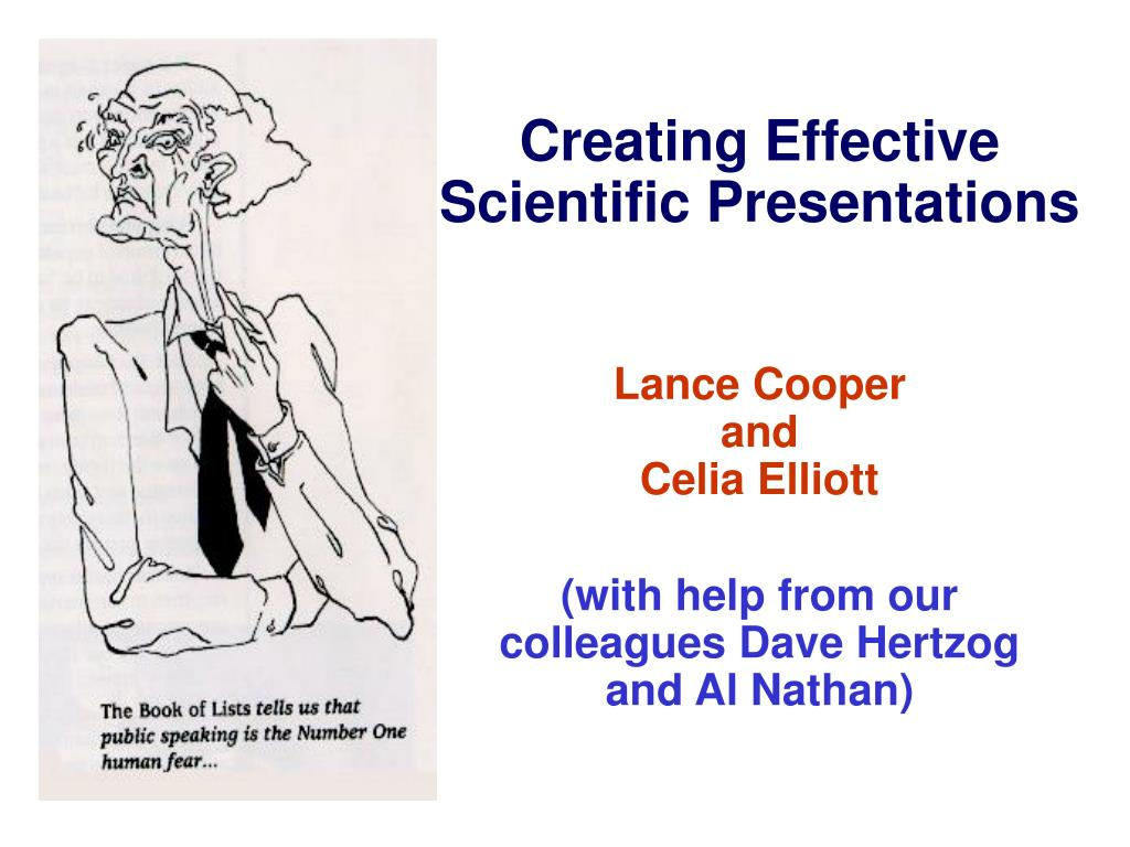 ppt creating effective scientific presentations powerpoint