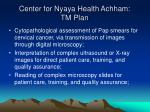 center for nyaya health achham tm plan32
