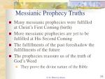 messianic prophecy truths