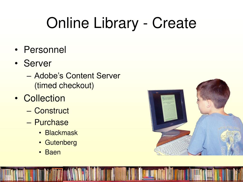 Online Library - Create