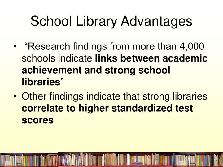 School library advantages