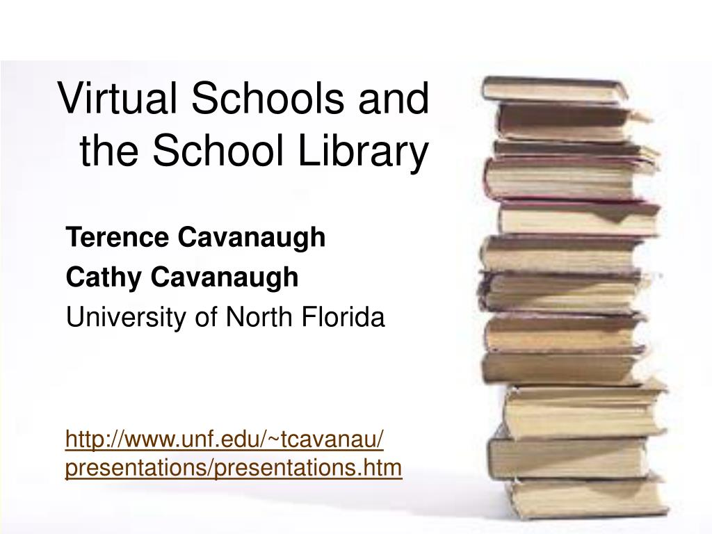 virtual schools and the school library l.