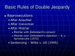 basic rules of double jeopardy1