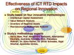 effectiveness of ict rtd impacts on regional innovation5