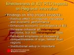 effectiveness of ict rtd impacts on regional innovation6