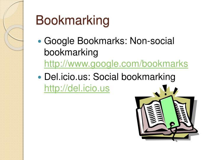 Bookmarking