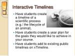 interactive timelines1