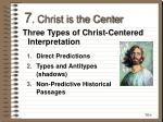 7 christ is the center26