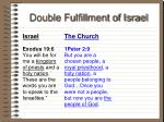 double fulfillment of israel38