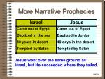 more narrative prophecies34