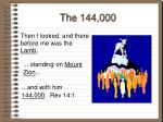 the 144 000