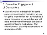 5 pro active engagement of consumers