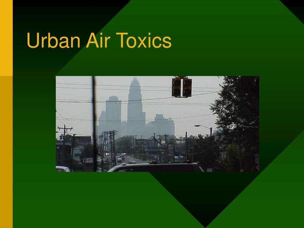 urban air toxics l.