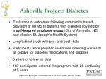 asheville project diabetes
