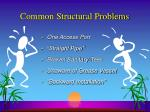 common structural problems