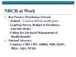 nbch at work