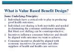what is value based benefit design15