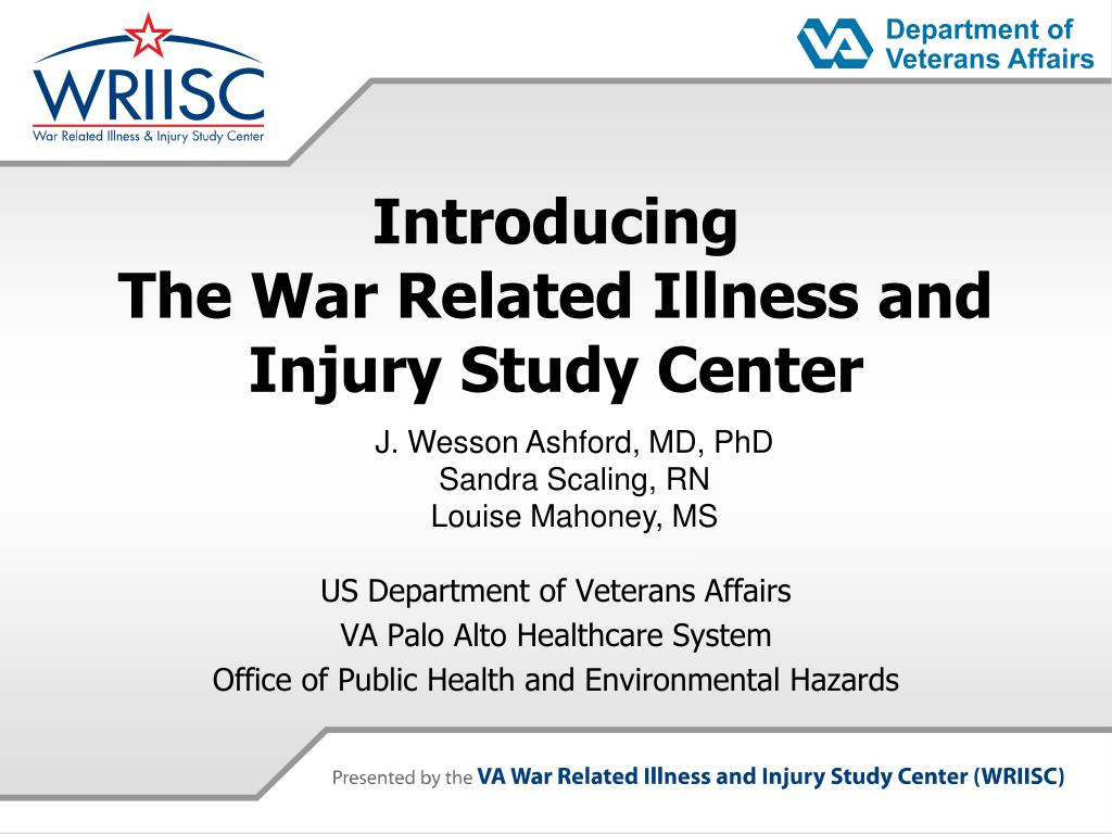 introducing the war related illness and injury study center l.