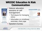 wriisc education risk communication18