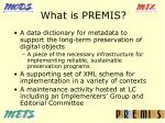 what is premis