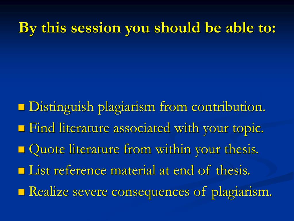 conduct literature review thesis
