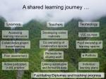 a shared learning journey9
