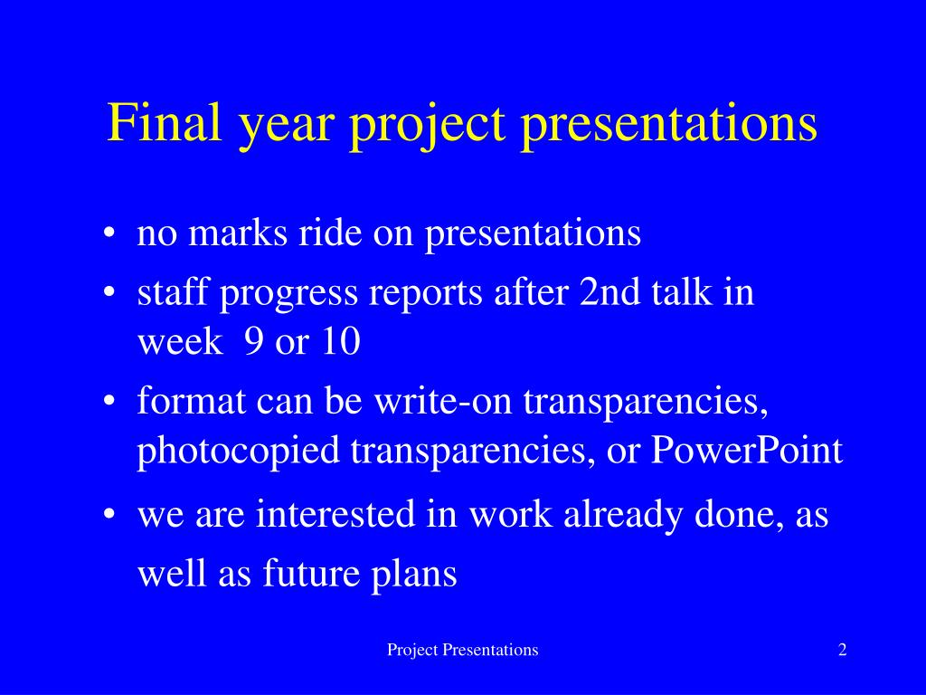 final year project progress report 1