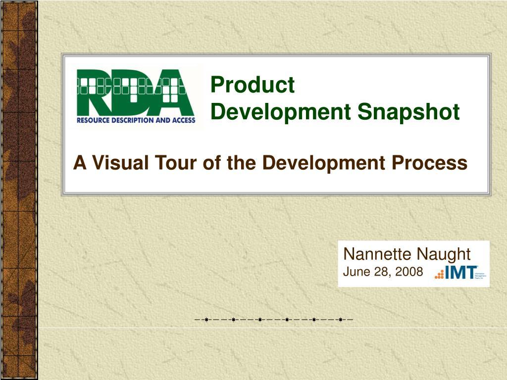 product development snapshot l.