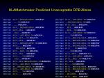 hlamatchmaker predicted unacceptable dpb alleles